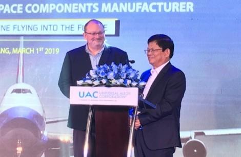 Xây dựng nhà máy sản xuất linh kiện hàng không vũ trụ 170 triệu USD tại Đà Nẵng