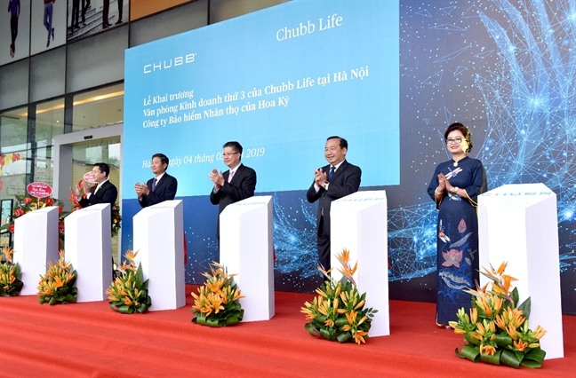 Chubb Life Viet Nam khai truong van phong kinh doanh thu 3 tai Ha Noi
