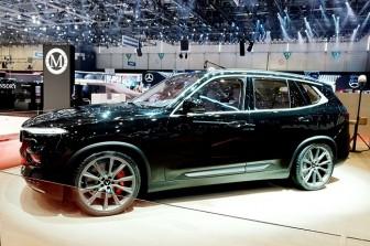 VinFast trình làng mẫu SUV LUX phiên bản đặc biệt tại Thụy Sỹ