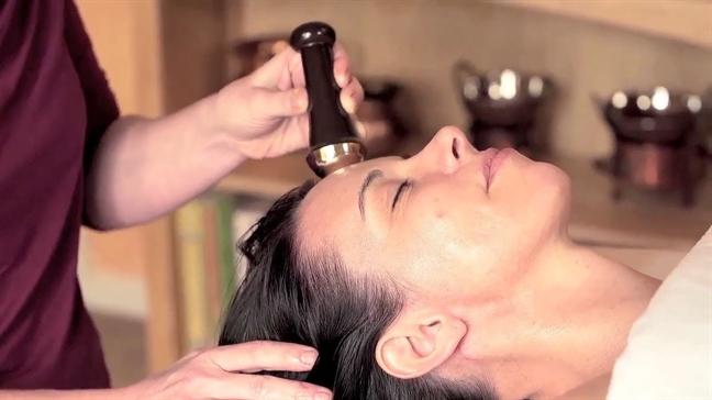 Massage mat Kansa, bi mat cua phu nu An