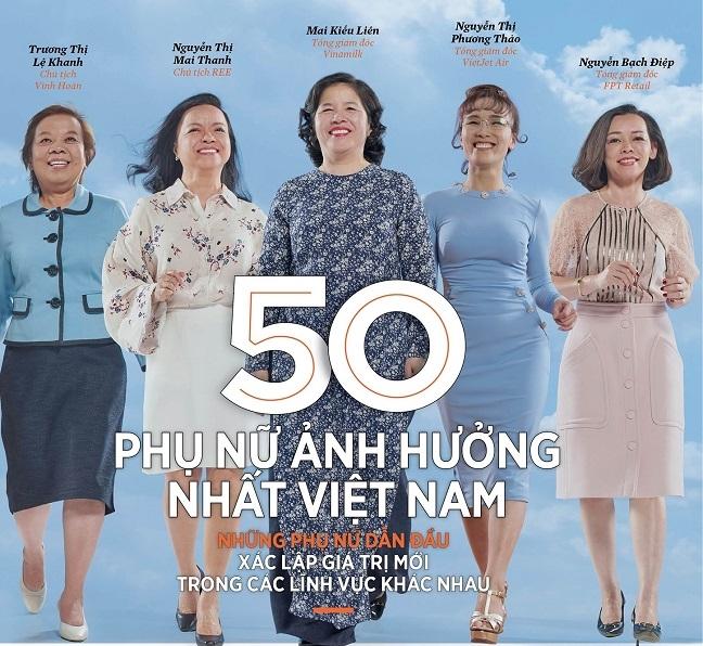 'Tu tuong doi moi, sang tao – dau an cua ba Mai Kieu Lien tai Vinamilk'