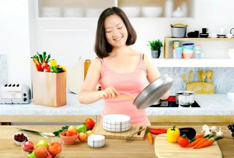 Yêu mình từ xó bếp