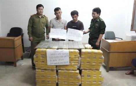Chặn đứng 600.000 viên ma túy sắp được đưa về Việt Nam