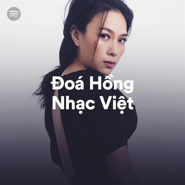 My Tam nam trong top nghe si duoc 'stream' nhieu nhat tai Viet Nam