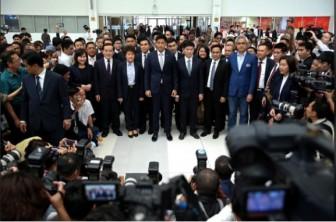 Tòa án giải tán đảng đề cử công chúa Thái Lan làm ứng viên thủ tướng