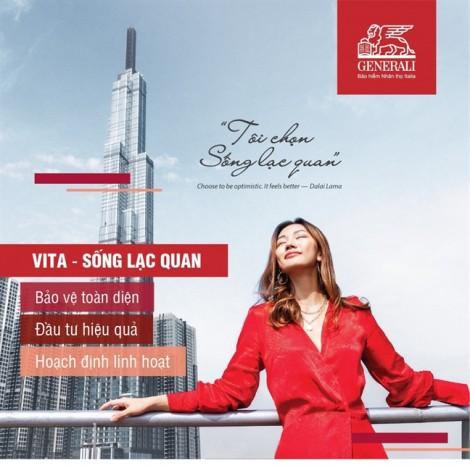 Generali Việt Nam mang VITA – Sống lạc quan đến mọi khách hàng