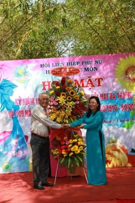 Huyện Hóc Môn: 27 thí sinh vào chung kết hội thi 'Phụ nữ thanh lịch'