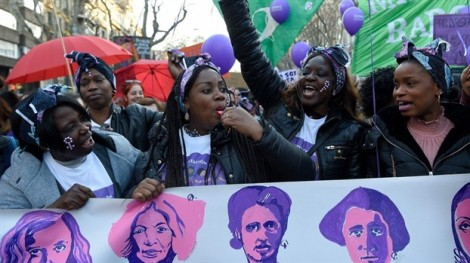 Ngày Quốc tế Phụ nữ không êm ả trên toàn cầu