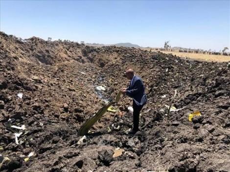 Mỹ hỗ trợ điều tra vụ tai nạn máy bay Ethiopia