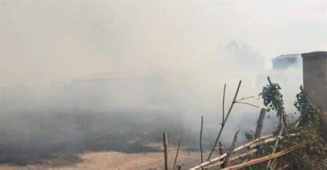 TP.HCM: Xưởng gỗ bốc cháy dữ dội, công nhân ôm đồ tháo chạy