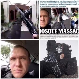 Tiết lộ rợn người về nghi phạm xả súng ở New Zealand