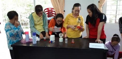Phụ nữ huyện Cần Giờ tiếp tục ứng phó với biến đổi khí hậu