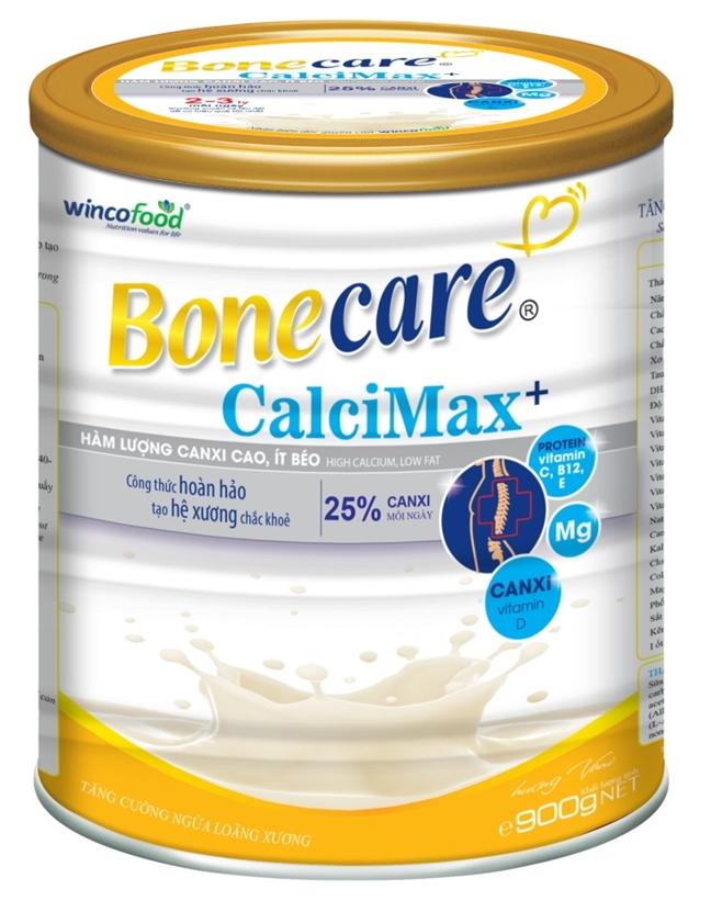 Wincofood ra mat san pham Bonecare calci Max+ phong ngua loang xuong