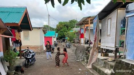 Cảnh sống cùng động đất của người dân ở Lombok, Indonesia