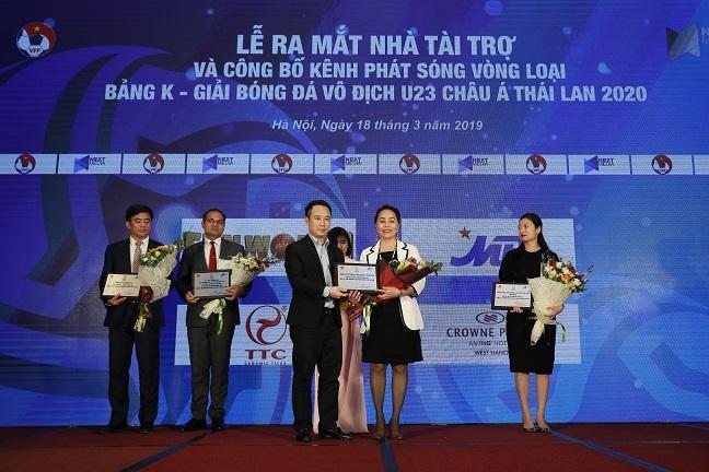 Sun World gop phan mang cac tran dau vong loai U23 chau A Thai Lan 2020 den khan gia truyen hinh