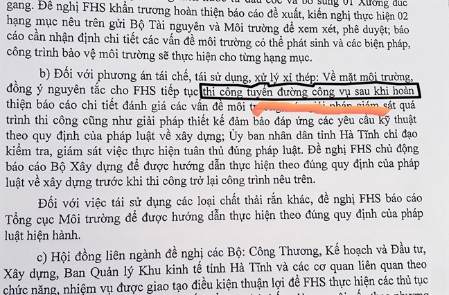 Vu Formosa: Ai 'bao che' de nui xi thep khong lo thanh vanh dai xanh?