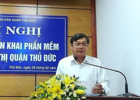 Canh cao Pho chu tich UBND Q.Thu Duc do buong long trat tu xay dung