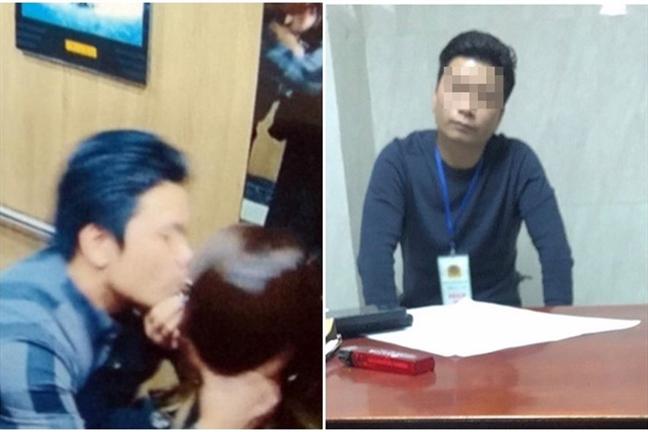 De nghi Bo Cong an kiem tra vu 'sam so' nu sinh trong thang may chi bi phat 200.000 dong