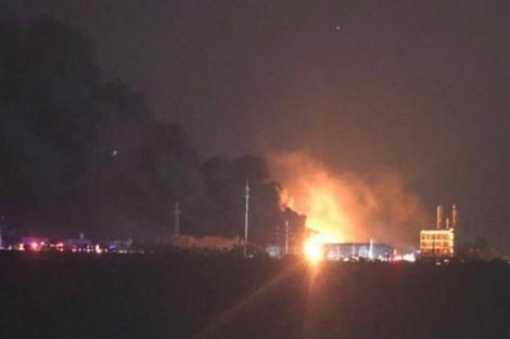 Trung Quốc: Nổ nhà máy hóa chất, 44 người thiệt mạng