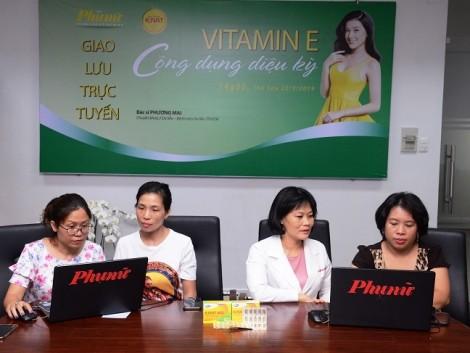 Tác dụng của vitamin E dưới góc nhìn chuyên gia