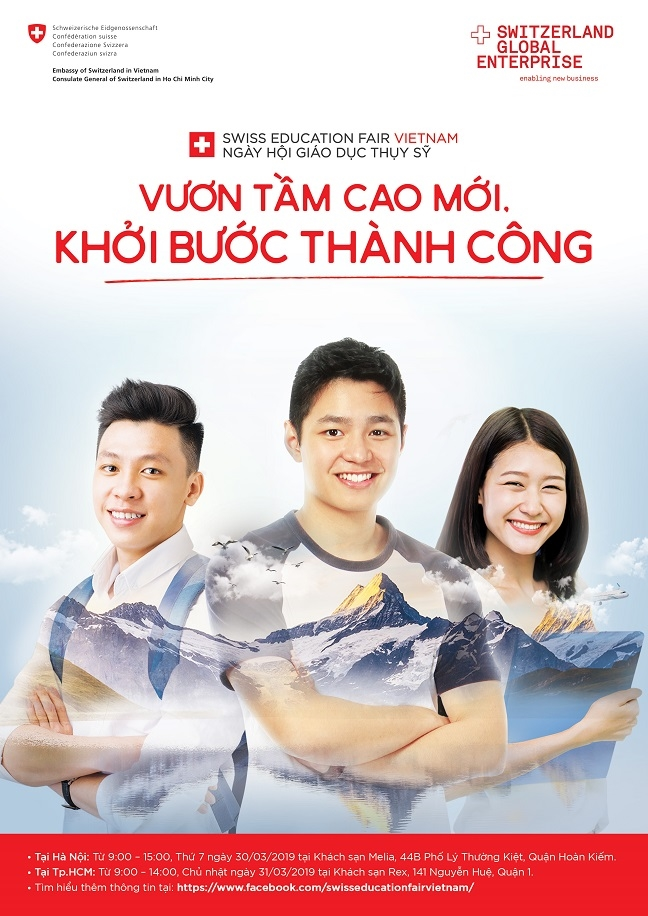 Kham pha Ngay hoi giao duc Thuy Sy vao cuoi thang 3/2019