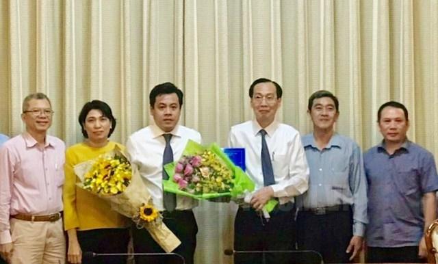 Ong Tran Anh Tuan giu chuc Pho Giam doc So Ke hoach va Dau tu TP.HCM