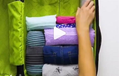 Cuộn tròn trang phục- bí quyết chưa bao giờ cũ để quần áo không bị nhăn nhúm và tiết kiệm diện tích