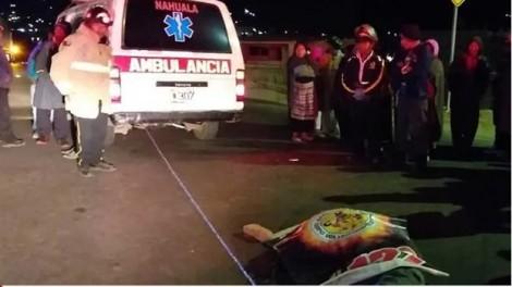 Đứng xem tai nạn giao thông, 32 người chết thảm vì xe tải tông