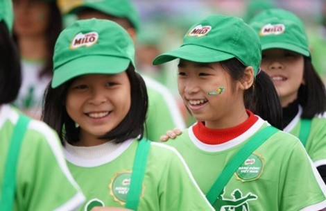 Nestlé Milo cung cấp 10,5 tỷ hộp Milo tại Việt Nam trong 25 năm