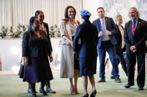 Angelina Jolie lên tiếng về quyền phụ nữ trong tiến trình hòa bình Afghanistan