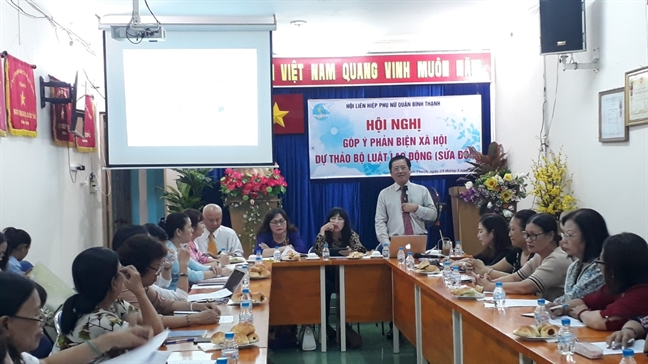 Binh Thanh: Phan bien cho du thao Bo Luat Lao dong sua doi
