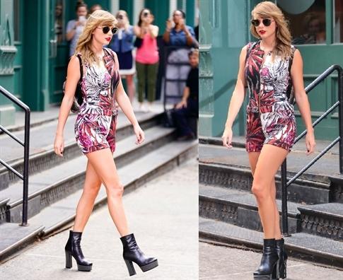 Diẹn romper dẹp mọi lúc mọi noi nhu Taylor Swift