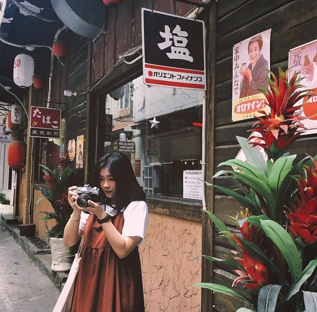 Dao pho Nhat giua long Sai Gon