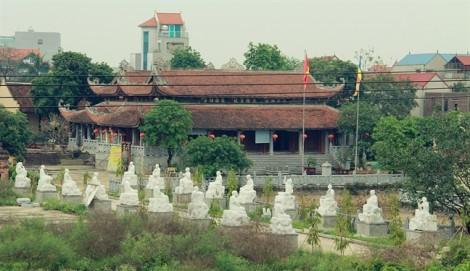 Công an vào cuộc điều tra kẻ phá hoại 16 pho tượng La Hán