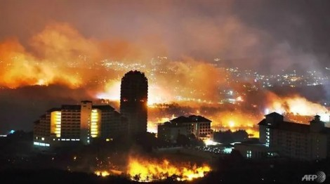Hàn Quốc ban bố tình trạng thảm họa quốc gia vì cháy rừng
