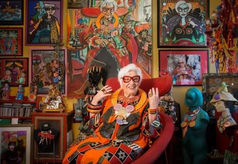 Sue Kreitzman: Quý bà rực rỡ ở tuổi 75