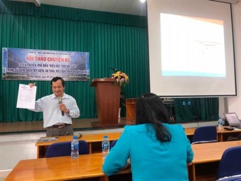Quận Phú Nhuận: Đưa kiến thức về điện mặt trời nối lưới đến hội viên