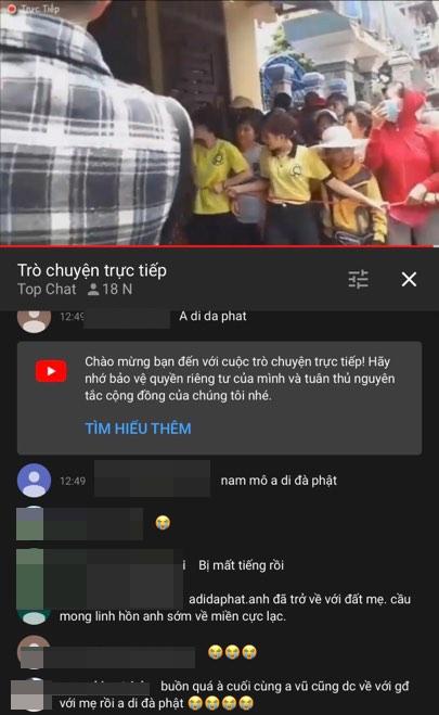 YouTuber 'nao loan' o dam tang co nghe si Anh Vu: Mot kieu kiem tien bat chap