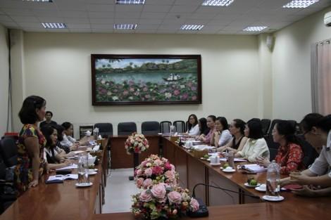 Hội LHPN TP Đà Nẵng học tập kinh nghiệm TP.HCM.
