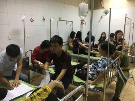 86 công nhân ngộ độc thực phẩm sau bữa ăn ở công ty