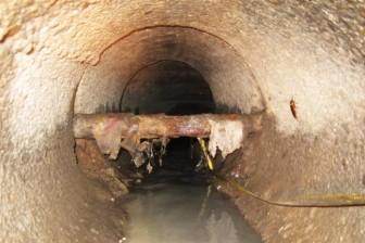 Gần 500 tỷ đồng sửa 2,7 km cống cũ ở Sài Gòn
