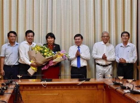 UBND TP.HCM bổ nhiệm giám đốc Sở Kế hoạch Đầu tư và Giao thông Vận tải