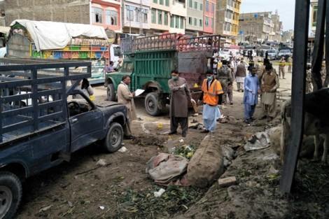 Pakistan: Đánh bom tại chợ rau củ khiến gần 70 người thương vong