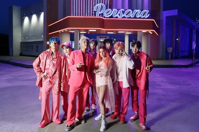 BTS la nhom nhac K-Pop dau tien vuot moc 5 ty luot 'stream' tren Spotify