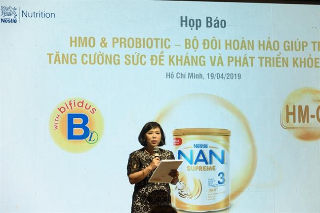 Nestle ra mat san pham NAN Supreme 3