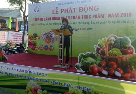 Tăng cường kiểm tra vệ sinh an toàn thực phẩm trên địa bàn quận 8