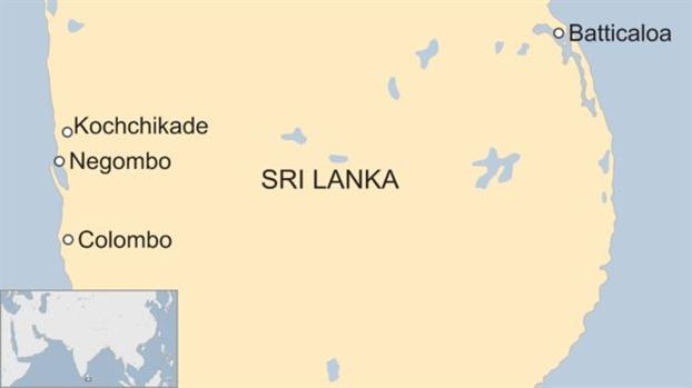 6 vu no lam rung chuyen Sri Lanka, khien it nhat 137 nguoi thiet mang