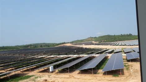 Nhà máy điện mặt trời Cư Jút sẽ phát điện thương mại trước ngày 30/6/2019