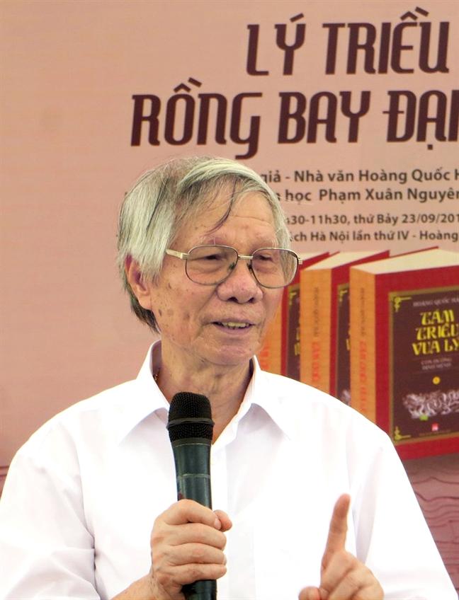 Nha van Hoang Quoc Hai: Giai thuong mat 'thieng'  nam trong su xuong cap  chung cua xa hoi