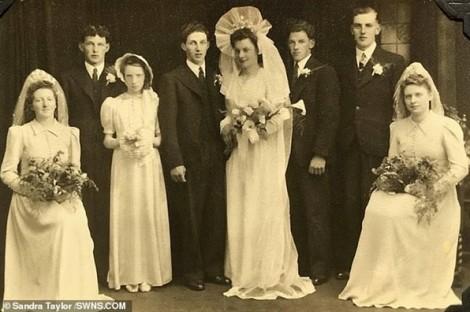 Cặp đôi ngoài 90 trao lại lời thề tại đúng nơi họ từng kết hôn trong Thế chiến II